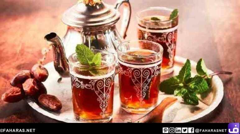 الشاي المغربي.