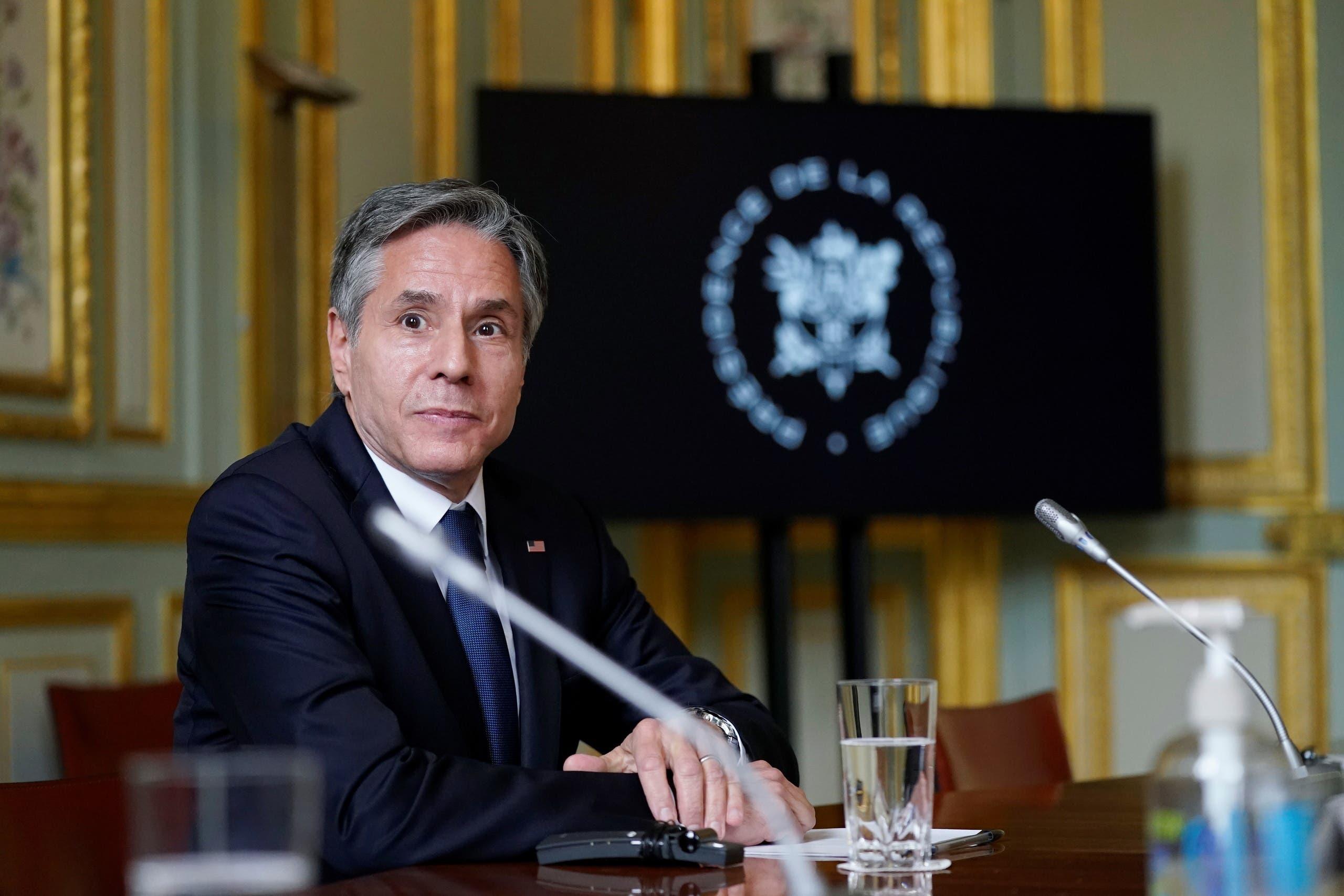 وزير الخارجية الأميركي، أنتوني بلينكن