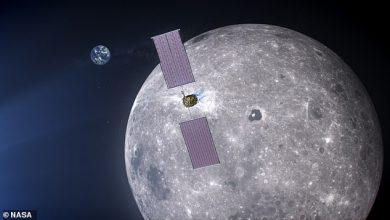 المركبة الفضائية المصممة لإرسال البشر للقمر