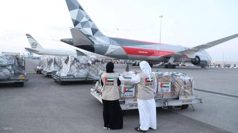 مساعدات طبية وغذائية من دبي إلى موريتانيا