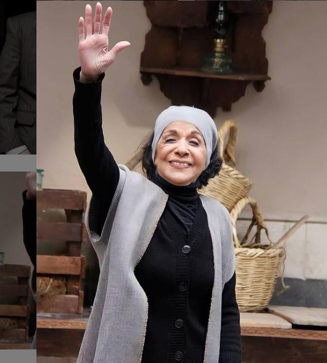 سامية الجزائري - الصورة من انستغرام سامية الجزائري