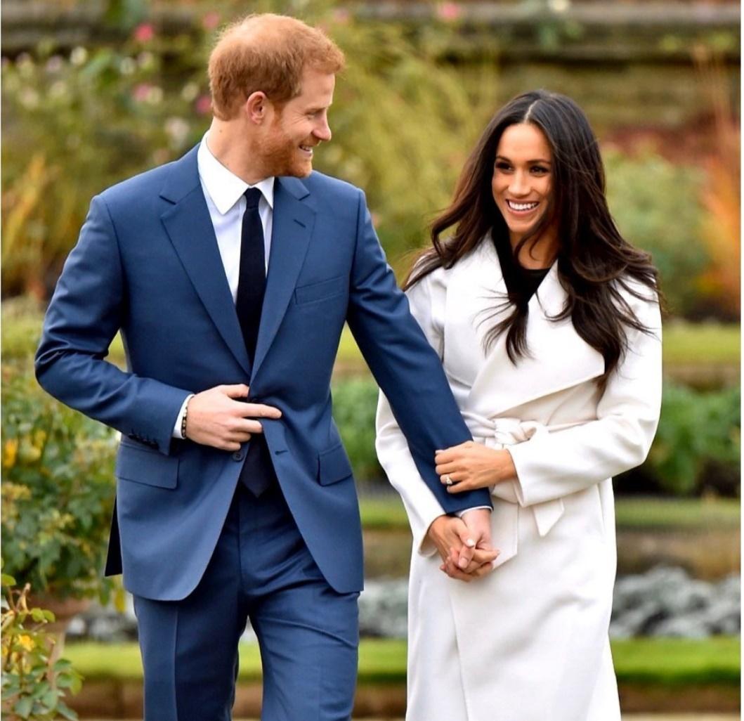 هاري وزوجته ميجان ماركل- الصورة من حساب Sussex royal على إنستغرام