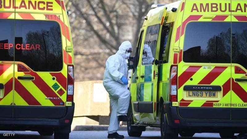 بريطانيا تسجل 708 حالة وفاة جديدة