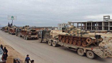 رتل عسكري تركي يدخل الأراضي السورية