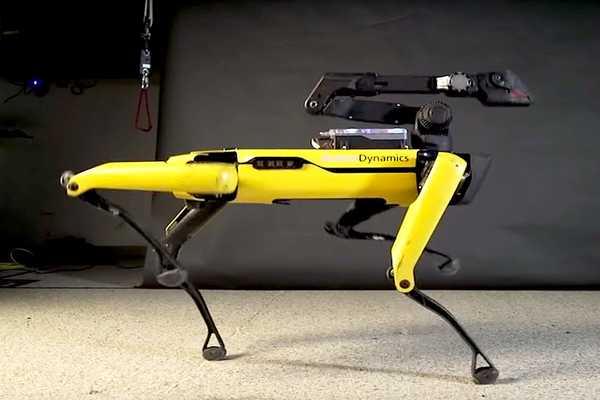 تطوير جيل الجديدة من روبوت Spot للمشافي
