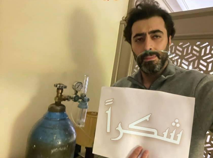 باسم ياخور بعد شفائه من كورونا