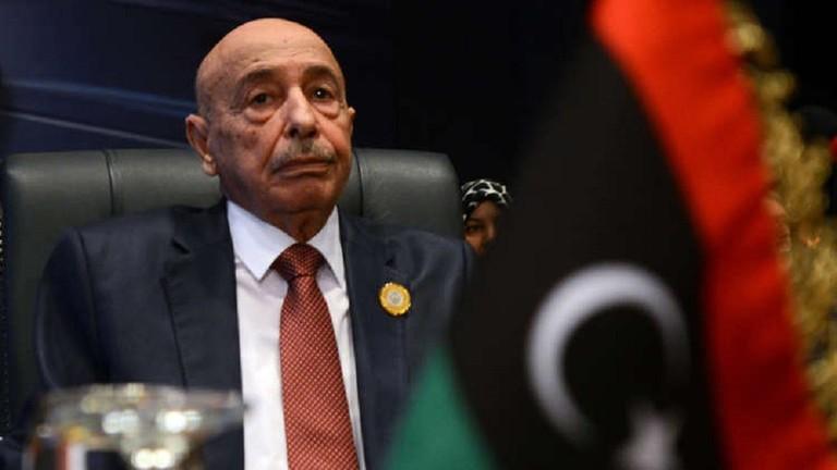عقيلة صالح: يعلن التعبئة والنفير العام في ليبيا ردا على التهديدات التركية