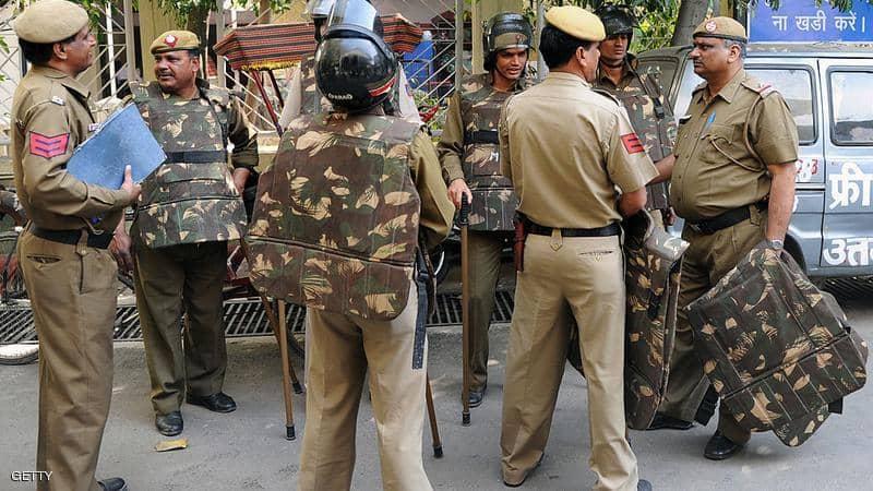 عناصر من الشرطة الهندية
