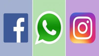 فيسبوك و إنستغرام و واتس آب