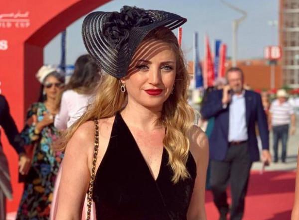 كريستيان بيسري اعلامية لبنانية و موقف محرج لها
