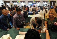 عدد مطالبات البطالة الجديدة المقدمة
