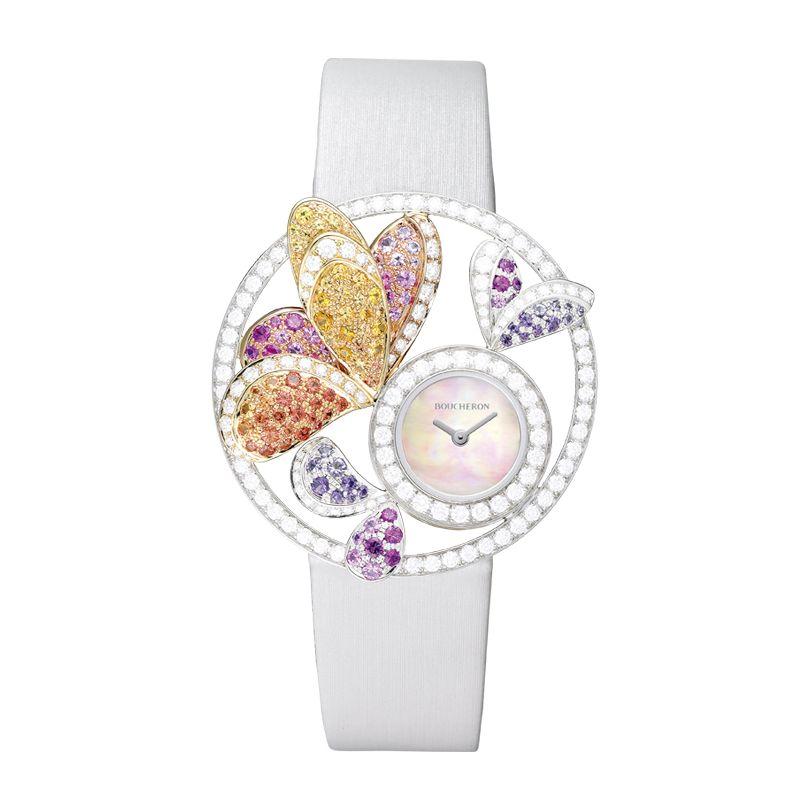 ساعة ملونة من بوشرون Boucheron