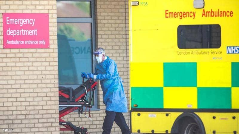 بريطانيا وفيات الوباء تبلغ العتبة دول الخمسة