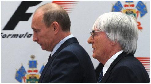 الفورمولا وان في روسيا لأول مره