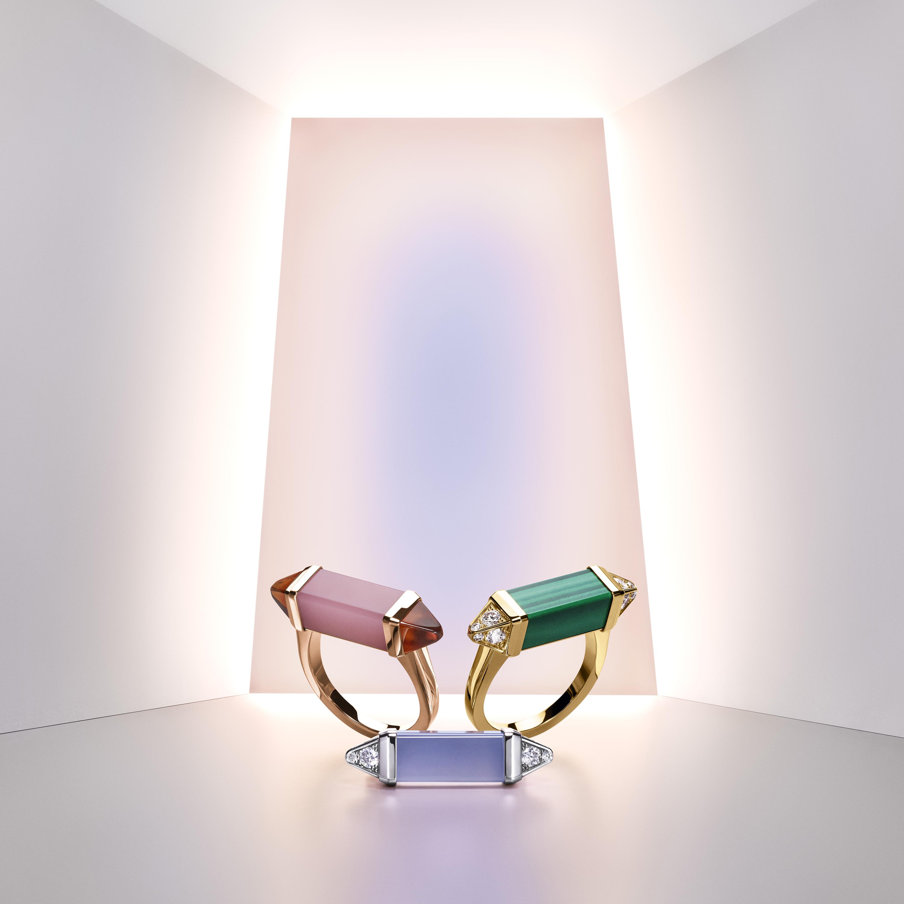 """مجموعة """"لي بيرلانغو دو كارتييه"""" Les Berlingots De Cartier  من كارتييه Cartier"""