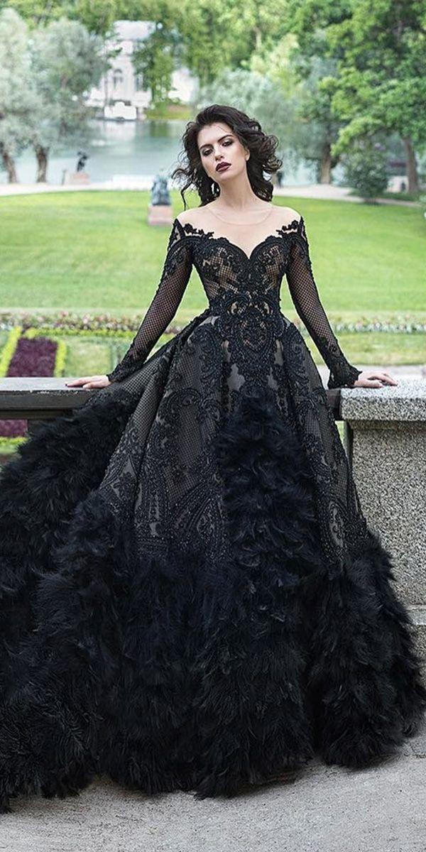 فساتين زفاف أسود