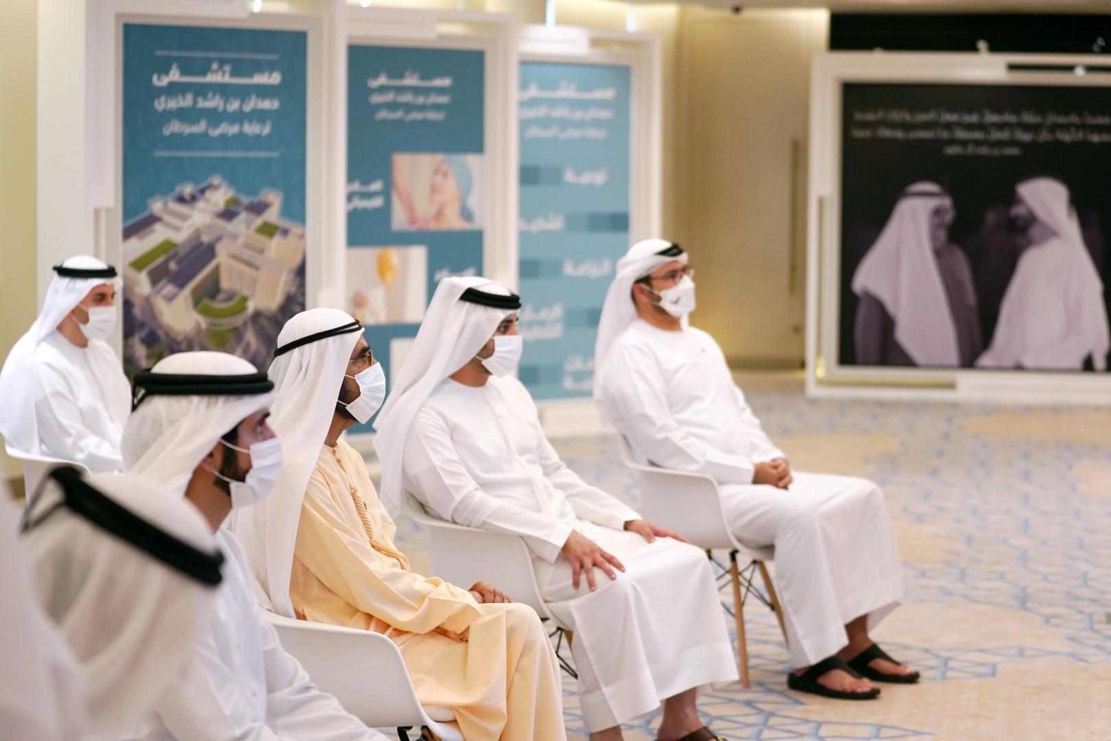 حاكم دبي يُعلن عن مستشفى حمدان بن راشد