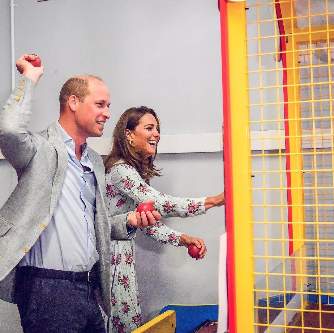 حافظ الأمير ويليام وكيت ميدلتون على شعبيتهما واحتلا المركز الثاني والثالث بعد الملكة مباشرة-الصورة من أنستغرام