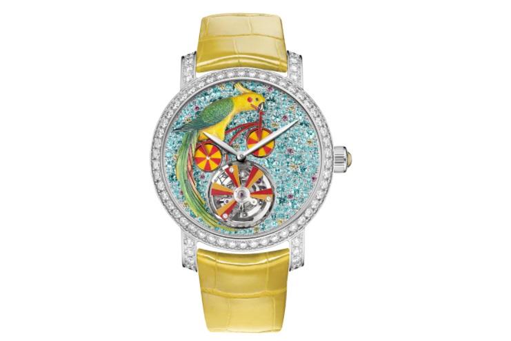 ساعة ملونة من شوميه Chaumet