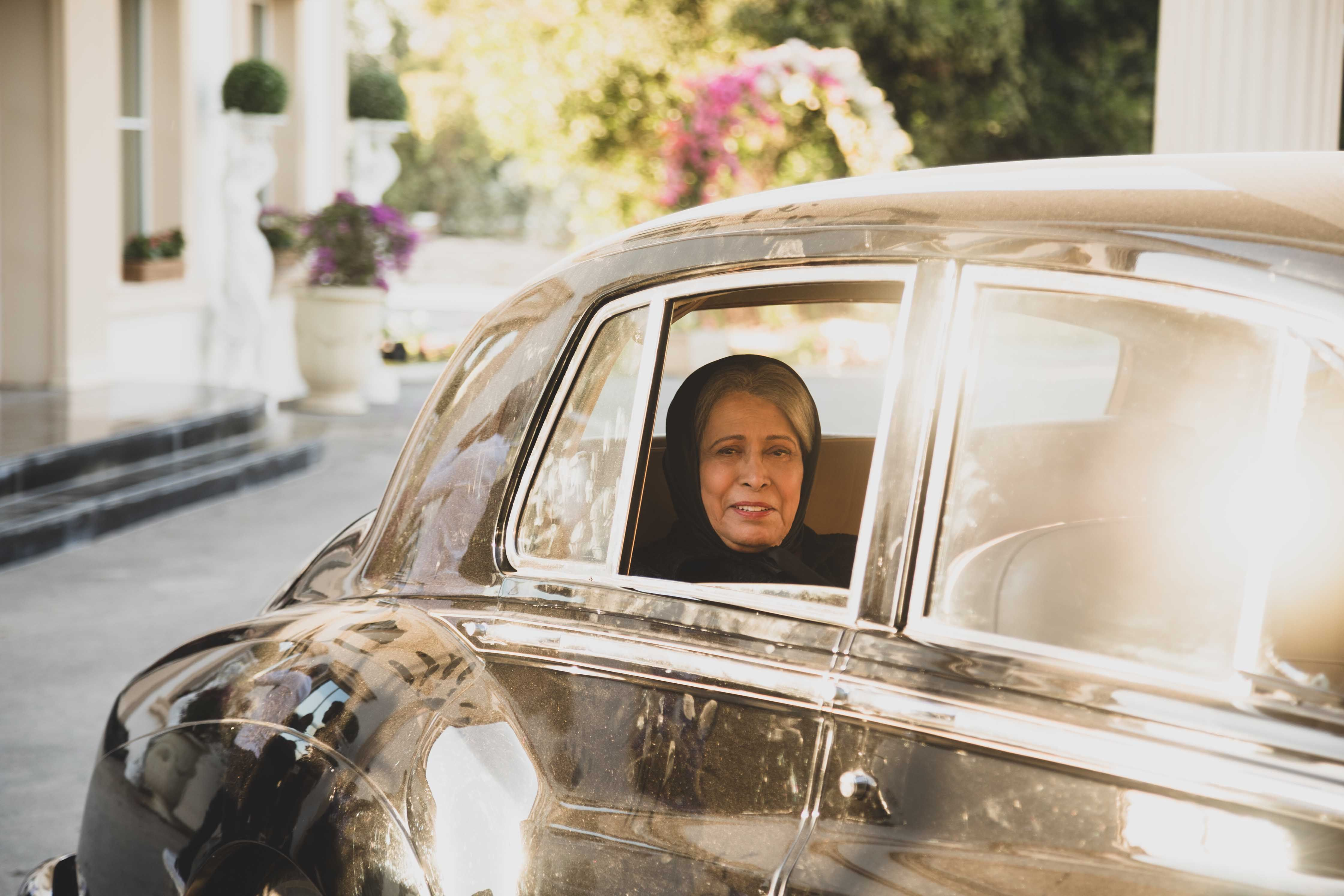 حياة الفهد في لقطة من مسلسل مارغريت