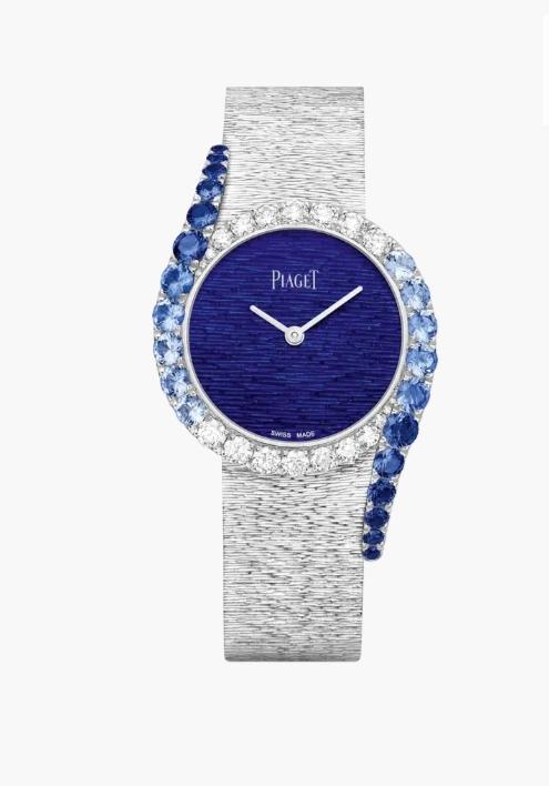 ساعة يد مرصّعة بالأحجار الملونة من ماركة بياجيه Piaget لعيد الأضحى ٢٠٢١