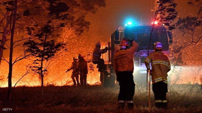 استراليا في حريق مستمر