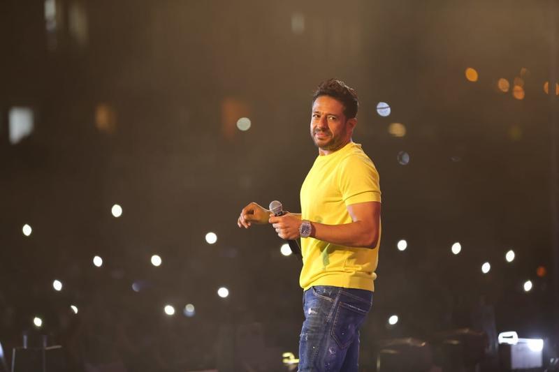 محمد حماقي يحيي حفلا في الاسكندرية ويتسبب في ازمة مرورية