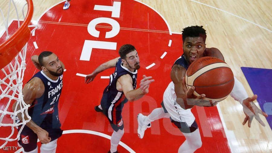 المنتخب الأميركي يودع كأس العالم لكرة السلة بعد الحفاظ عليه 5 سنوات