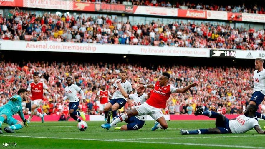 تعادل أرسنال وتوتنهام 2-2 في دربي شمال لندن ويرفع رصيده إلى سبع نقاط