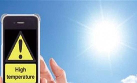 الأجهزة الذكية تتأثر بالارتفاع الهائل في درجات الحرارة