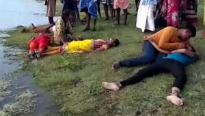 في الهند وفاة عروس وعائلتها والسبب التقاط صورة على سد للمياه
