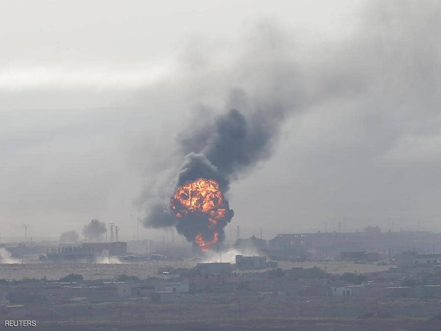 تركيا تكثف القصف على شمال سوريا